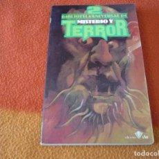 Libros de segunda mano: BIBLIOTECA UNIVERSAL DE MISTERIO Y TERROR Nº 2 ¡BUEN ESTADO! EDICIONES UVE. Lote 158549830
