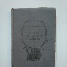 Libros de segunda mano: EL CASO DEL MOSQUITO ADORMILADO. - ERLE STANLEY GARDNER. EDITORIAL PLANETA 1956. TDK377A. Lote 158569746