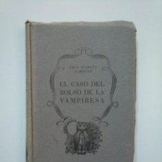 Libros de segunda mano: EL CASO DEL BOLSO DE LA VAMPIRESA. ERLE STANLEY GARDNER. EDITORIAL PLANETA 1955. TDK377A. Lote 158569914