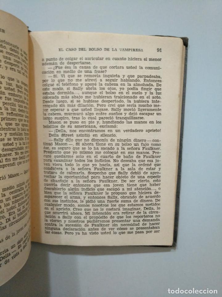 Libros de segunda mano: EL CASO DEL BOLSO DE LA VAMPIRESA. ERLE STANLEY GARDNER. EDITORIAL PLANETA 1955. TDK377A - Foto 2 - 158569914