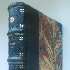 Libros de segunda mano: EL NOMBRE DE LA ROSA (1985) / UMBERTO ECO. LUMEN ¡¡ ENCUADERNACIÓN ARTESANAL !!. Lote 158856686