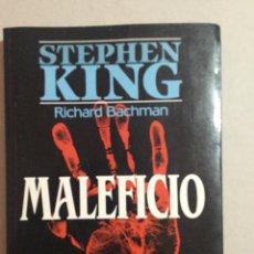 Libros de segunda mano: MALEFICIO. STEPHEN KING. Lote 158864894