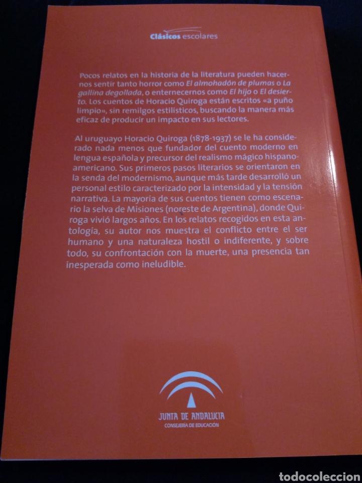 Libros de segunda mano: Cuentos de horror y de muerte. Horacio Quiroga - Foto 2 - 158938949