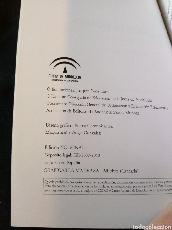 Libros de segunda mano: Cuentos de horror y de muerte. Horacio Quiroga - Foto 3 - 158938949