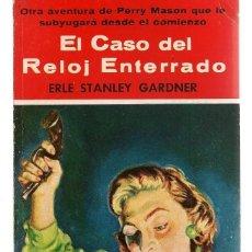 Libros de segunda mano: ¨EL BUHO ¨. Nº 14. EL CASO DEL RELOJ ENTERRADO. E. STANLEY GARDNER. GERPLA.(P/C41). Lote 159069486