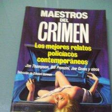 Libros de segunda mano: MAESTROS DEL CRIMEN.. Lote 159854670