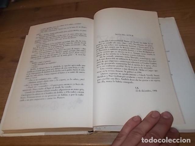 Libros de segunda mano: STEPHEN KING. CORAZONES EN LA ATLÁNTIDA. PLAZA & JANÉS. 1ª EDICIÓN 1999. EXCELENTE EJEMPLAR. FOTOS. - Foto 6 - 160073994