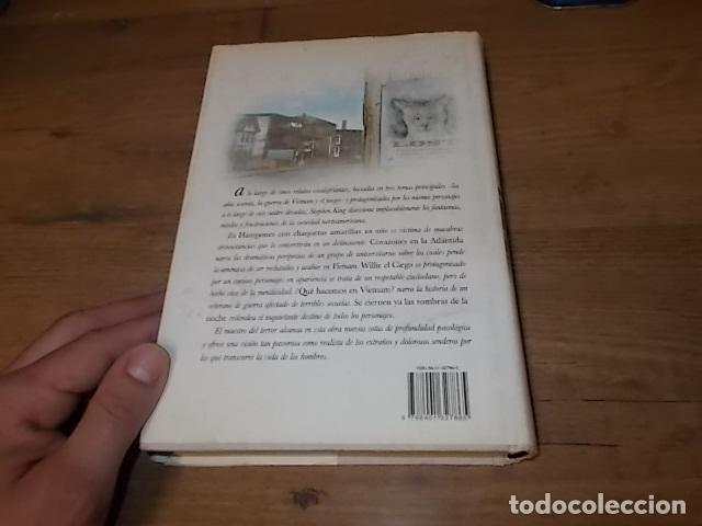 Libros de segunda mano: STEPHEN KING. CORAZONES EN LA ATLÁNTIDA. PLAZA & JANÉS. 1ª EDICIÓN 1999. EXCELENTE EJEMPLAR. FOTOS. - Foto 7 - 160073994