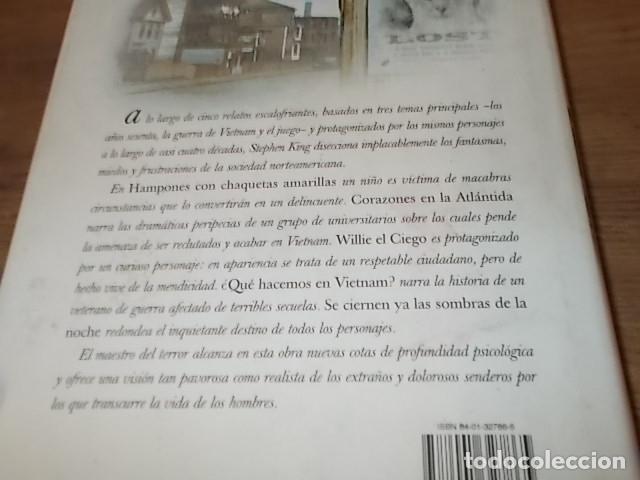 Libros de segunda mano: STEPHEN KING. CORAZONES EN LA ATLÁNTIDA. PLAZA & JANÉS. 1ª EDICIÓN 1999. EXCELENTE EJEMPLAR. FOTOS. - Foto 8 - 160073994
