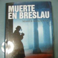 Libros de segunda mano: MUERTE EN BRESLAU - MAREK KRAJEWSKI.. Lote 160167650