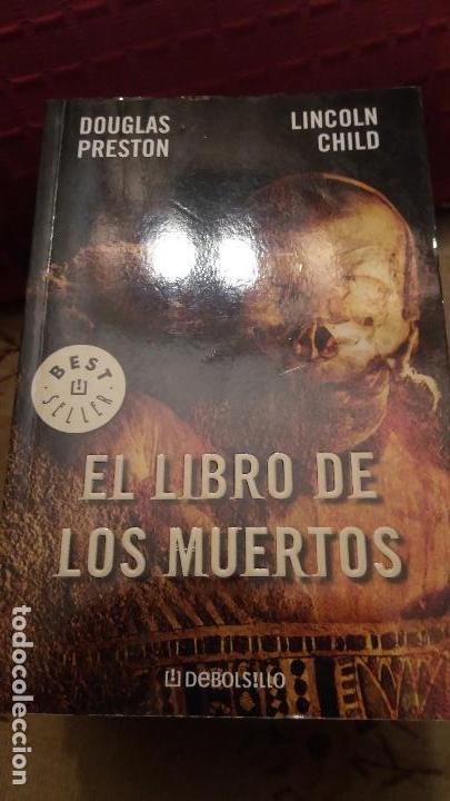 EL LIBRO DE LOS MUERTOS - EDICION DE BOLSILLO (Libros de segunda mano (posteriores a 1936) - Literatura - Narrativa - Terror, Misterio y Policíaco)