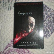 Libros de segunda mano: SANGRE Y ORO;ANNE RICE;EDICIONES B 2009. Lote 160477106
