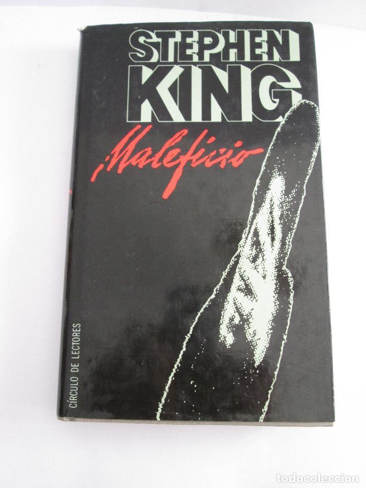 STEPHEN KING - MALEFICIO - 1986 - 294 PAGINAS - CIRCULO DE LECTORES - TAPAS DURAS CON SOBRECUBIERTA (Libros de segunda mano (posteriores a 1936) - Literatura - Narrativa - Terror, Misterio y Policíaco)