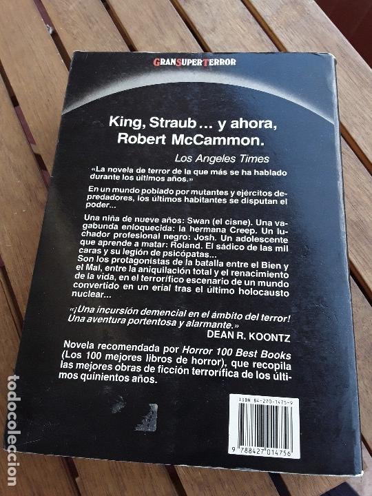 Libros de segunda mano: El canto del cisne. Sin leer, excelente estado. Gran Super Terror, Martinez Roca. Robert McCammon. - Foto 2 - 162470936