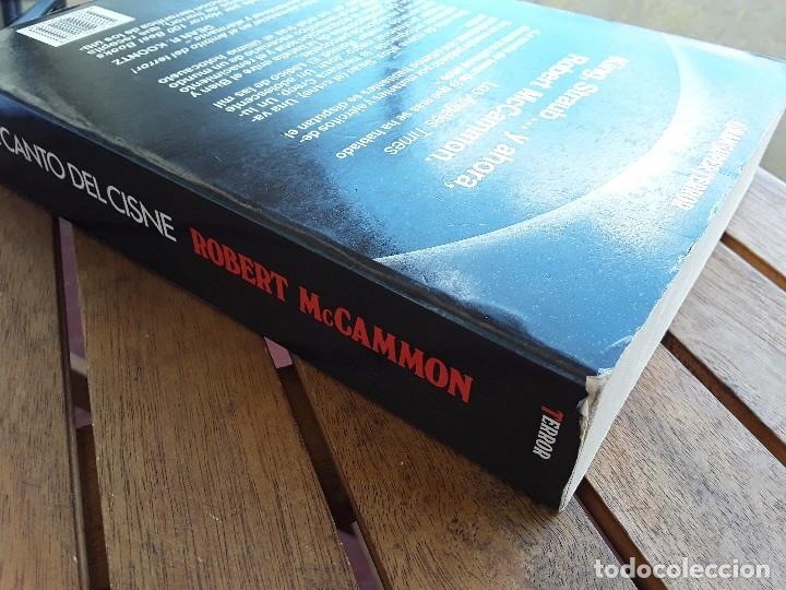 Libros de segunda mano: El canto del cisne. Sin leer, excelente estado. Gran Super Terror, Martinez Roca. Robert McCammon. - Foto 4 - 162470936