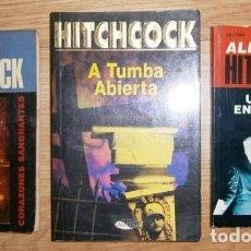 Libros de segunda mano: LOTE DE 3 SELECCIONES DE MISTERIO POR ALFRED HITCHCOCK, EDICIONES AGATA / SELMAR EN BARCELONA 1987. Lote 162948477