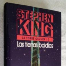 Libros de segunda mano: LAS TIERRAS BALDIAS (LA TORRE OSCURA 3) - STEPHEN KING; CIRCULO DE LECTORES. Lote 163473674