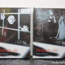 Libros de segunda mano: DRACULA - TOMOS 1 Y 2 - BRAM STOKER - NOVELAS DE SUSPENSE Y TERROR - RUEDA - NUEVOS. Lote 163533934