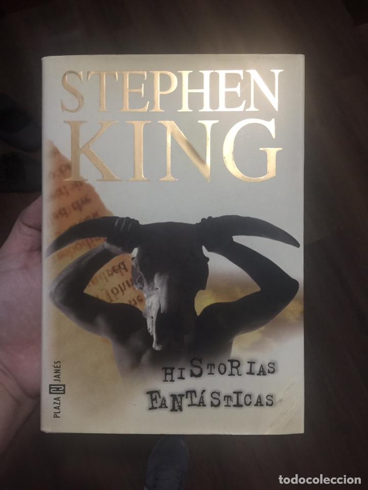 HISTORIAS FANTÁSTICAS - STEPHEN KING - SOBRECUBIERTA BLANCA - TAPA DURA - PLAZA & JANÉS (Libros de segunda mano (posteriores a 1936) - Literatura - Narrativa - Terror, Misterio y Policíaco)