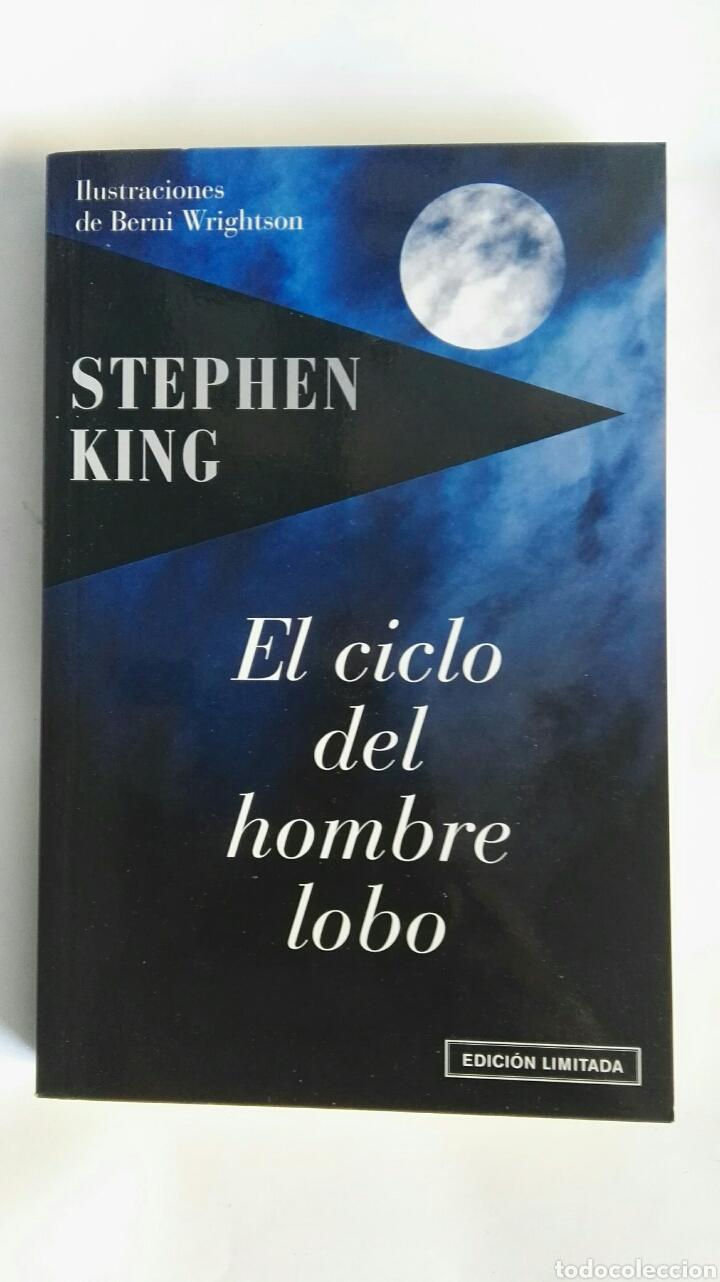 EL CICLO DEL HOMBRE LOBO STEPHEN KING EDICIÓN LIMITADA (Libros de segunda mano (posteriores a 1936) - Literatura - Narrativa - Terror, Misterio y Policíaco)