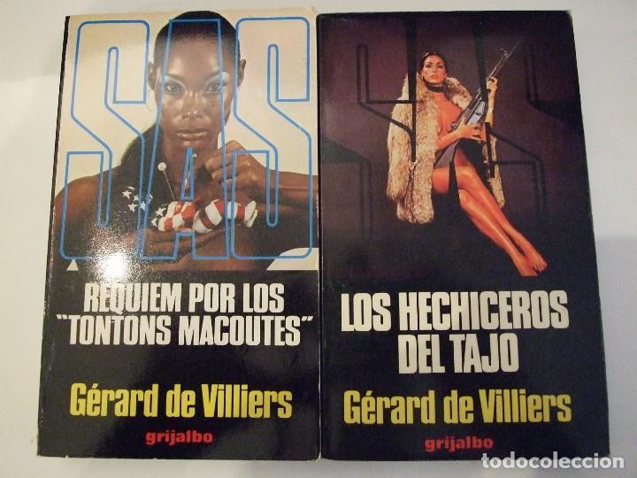 SAS REQUIEM POR LOS TONTONS MACOUTES Y LOS HECHIZEROS DEL TAJO - GERARD DE VILLIERS GRIJALBO (Libros de segunda mano (posteriores a 1936) - Literatura - Narrativa - Terror, Misterio y Policíaco)