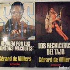 Libros de segunda mano: SAS REQUIEM POR LOS TONTONS MACOUTES Y LOS HECHIZEROS DEL TAJO - GERARD DE VILLIERS GRIJALBO. Lote 165618298