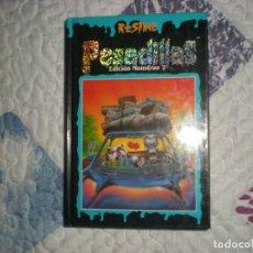 Libros de segunda mano: PESADILLAS.EDICIÓN MONSTRUO 2;R.L.STINE;EDICIONES B 1996. Lote 166798822