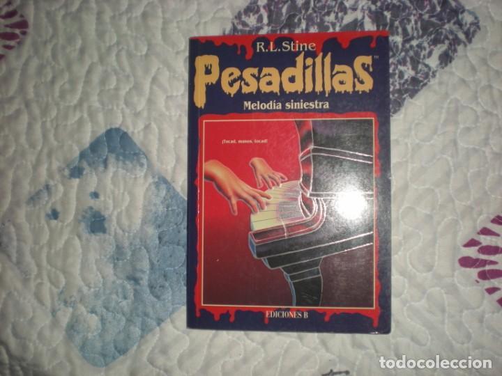 PESADILLAS 13.MELODÍA SINIESTRA;R.L.STINE;EDICIONES B 1996 (Libros de segunda mano (posteriores a 1936) - Literatura - Narrativa - Terror, Misterio y Policíaco)