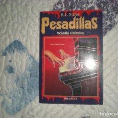 Libros de segunda mano: PESADILLAS 13.MELODÍA SINIESTRA;R.L.STINE;EDICIONES B 1996. Lote 166799390