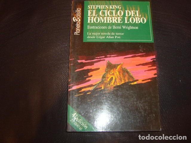 EL CICLO DEL HOMBRE LOBO , STEPHEN KING (Libros de segunda mano (posteriores a 1936) - Literatura - Narrativa - Terror, Misterio y Policíaco)