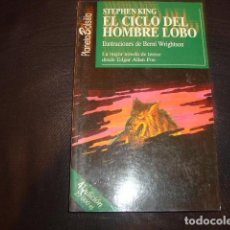 Libros de segunda mano: EL CICLO DEL HOMBRE LOBO , STEPHEN KING. Lote 166983360