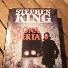Libros de segunda mano: LA ZONA MUERTA, DE STEPHEN KING. TAPA DURA. PRIMERA EDICIÓN, ABRIL 1992. RARISIMO.. Lote 166619330