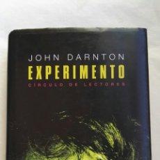 Libros de segunda mano: EXPERIMENTO JHON DARNTON. Lote 167592194
