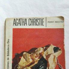 Libros de segunda mano: POIROT INVESTIGA AGATHA CHRISTIE. Lote 167757834