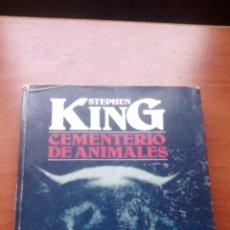 Libros de segunda mano: STEPHEN KING - CEMENTERIO DE ANIMALES - 1ª EDICION 1984 - PLAZA & JANES EDITORES. Lote 167982840