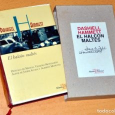 Libros de segunda mano: EL HALCÓN MALTÉS - DE DASHIELL HAMMETT - ALIANZA EDITORIAL - BIBLIOTECA 30 ANIVERSARIO - AÑO 1997. Lote 168336832