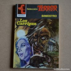 Livres d'occasion: SINIESTRO. LOU CARRIGAN. SELECCION TERROR Nº 467. LITERACOMIC. C2.. Lote 168902916