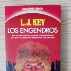 Libros de segunda mano: LOS ENGENDROS - GRAN SUPER TERROR - MARTINEZ ROCA. Lote 169102112