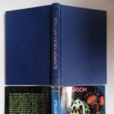 Livres d'occasion: EL HORROR VUELVE A AMITYVILLE, DE JAY ANSON. LA 1ª EDICIÓN, CON SOBRECUBIERTA, 1979. LAS CLAVES. Lote 169326212