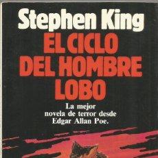 Libros de segunda mano: STEPHEN KING. EL CICLO DEL HOMBRE LOBO. PLANETA. ILUSTRADO.. Lote 169987076