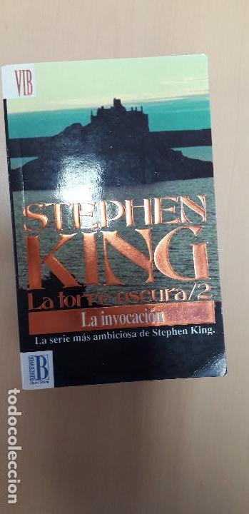 11-00317 LA INVOCACIÓN -STEPHEN KING (Libros de segunda mano (posteriores a 1936) - Literatura - Narrativa - Terror, Misterio y Policíaco)