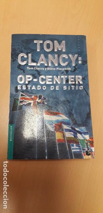 Libros de segunda mano: 11-00319 OP- CENTER . ESTADO DE SITIO - TOM CLANCY - Foto 1 - 170013432