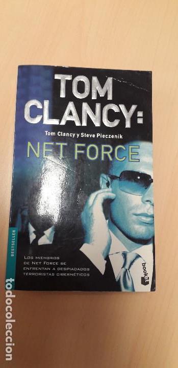 11-00321 NET FORCE - TOM CLANCY (Libros de segunda mano (posteriores a 1936) - Literatura - Narrativa - Terror, Misterio y Policíaco)