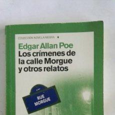 Libros de segunda mano: LOS CRÍMENES DE LA CALLE MORGUE Y OTROS RELATOS EDGAR ALLAN POE. Lote 170133693