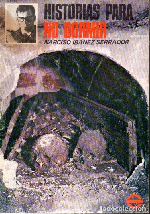 Libros de segunda mano: NARCISO IBÁÑEZ SERRADOR : 10 NÚMEROS HISTORIAS PARA NO DORMIR (1968) - Foto 8 - 171198850