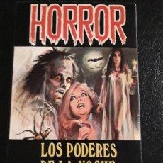 Libros de segunda mano: 1 NOVELA DE TERROR *** LOS PODERES DE LA NOCHE ** KARL VON VEREITER . AÑO 1973 EDIC. PETRONIO. Lote 171243804