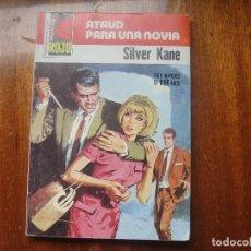 Libros de segunda mano: ATAUD PARA UNA NOVIA / SILVER KANE / PUNTO ROJO Nº 837 / BRUGUERA 1978 - MUY BUEN ESTADO. Lote 171245552