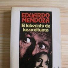 Libros de segunda mano: LIBRO EL LABERINTO DE LAS ACEITUNAS - EDUARDO MENDOZA - SEIX BARRAL SA 1985. Lote 171422984