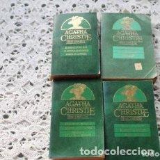 Libros de segunda mano: 4 LIBROS DE AGATHA CHRISTIE. Lote 171428673