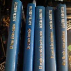 Libros de segunda mano: 5 LIBROS COLECCION AGATHA CHRISTIE CÍRCULO DE LECTORES. Lote 171503518
